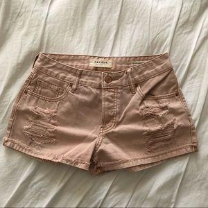 Pacsun pink shorts!